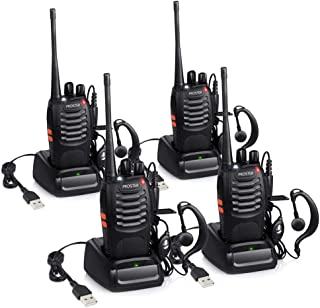 Proster Walkie Talkie Recargables, Walky Talky Profesionales