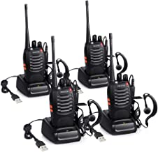 Proster T0036X2 - Walkie Talkie Recargables, 16 Canales,
