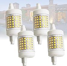 4x 360 ° 12W Dimbare R7s J78 LED-gloeilamp Dubbele schijnwerper Lamp 78mm 150W Halogeen Raplacementlamp voor Beveiligingsl...