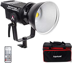 Aputure Light Storm LS C120D Mark 2 120D II Led Continuous Output Lighting Ultimate Upgrade 30,000 Lux @0.5m Supports DMX 5 CRI96+ TLCI97+ Pre-Programmed Lighting Effects (V-Mount)