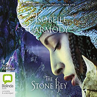 The Stone Key     The Obernewtyn Chronicles, Book 5              By:                                                                                                                                 Isobelle Carmody                               Narrated by:                                                                                                                                 Isobelle Carmody                      Length: 29 hrs and 26 mins     75 ratings     Overall 4.8