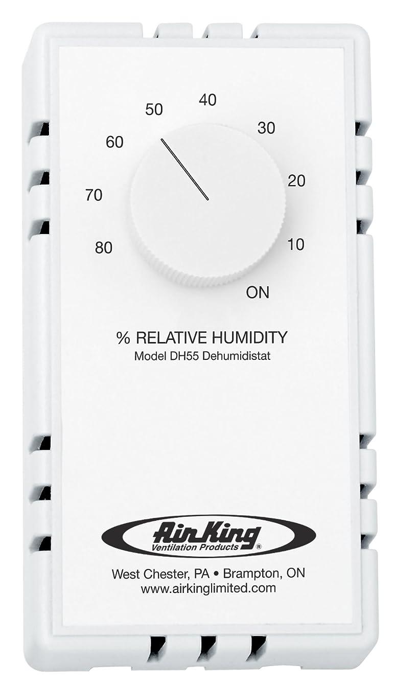 Air King DH55 Dehumidistat Switch, White