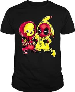 LEXIGSTORE Pikachu Deadpool T-Shirt, Deadpool Comics T Shirt