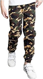 Aislor Niños Pantalones Cargo Camuflados de Moda Pants Pantalón de Chándal Ropa Deportiva Infantil de Jogging Ropa de Call...
