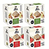 Quaker Baked Squares, Soft Baked Bars, Strawberry & Apple Cinnamon Variety Pack, 2.11oz Bars (20...