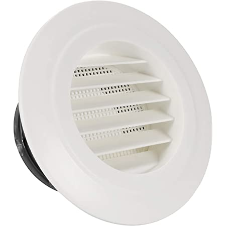 Details about  /Round Air Vent 4 Inch 100mm ABS Adjustable Louver Cover Ceiling Diffuser 3pcs