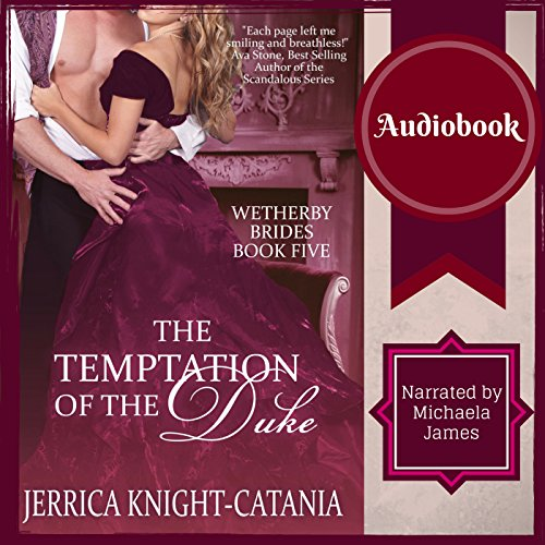 The Temptation of the Duke audiobook cover art