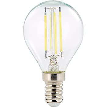 Luminea Retro LED Tropfen E14: Retro LED Lampe, G45, 3 Watt