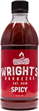 Wright's Barbecue — Spicy BBQ Sauce, 16 oz Bottle — Perfect for Brisket, Pulled Pork, Chicken, and Ribs — Premium Arkansas...