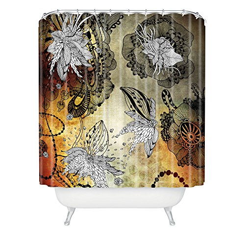 Deny Designs Iveta Abolina Nightplay Duschvorhang, 164 x 183 cm
