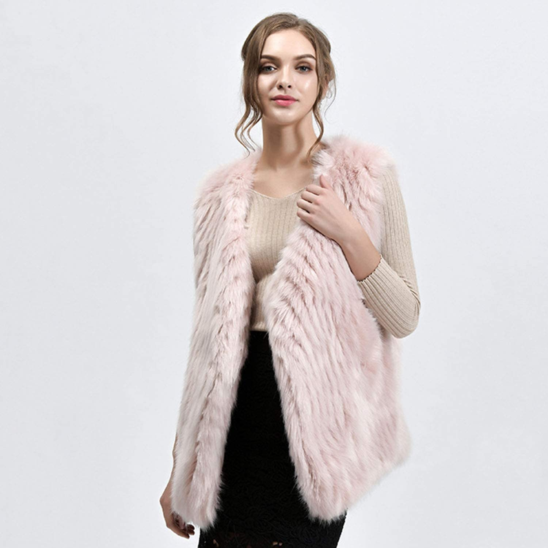 Women's Autumn Winter Slim Faux Fur Vest Pure color Warm Outwear Ideal For Ladies Girls Date Party Shopping Wear,3 color Optional