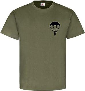 Copytec Paracaidista paracaídas Parachute parachutists Aire Arma Aire País Ejército Infantería Bundeswehr BW Ejército–Camiseta # 6546