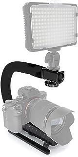 MyGadget Brazo estabilizador con Soporte Universal [Rosca estándar de 1/4-20] para Todo Tipo de Cámaras Fotográficas - Negro