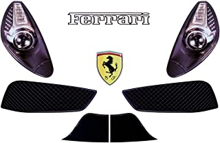 Five Star 975-410-ID Nose Only Graphics MD3 Ferrari