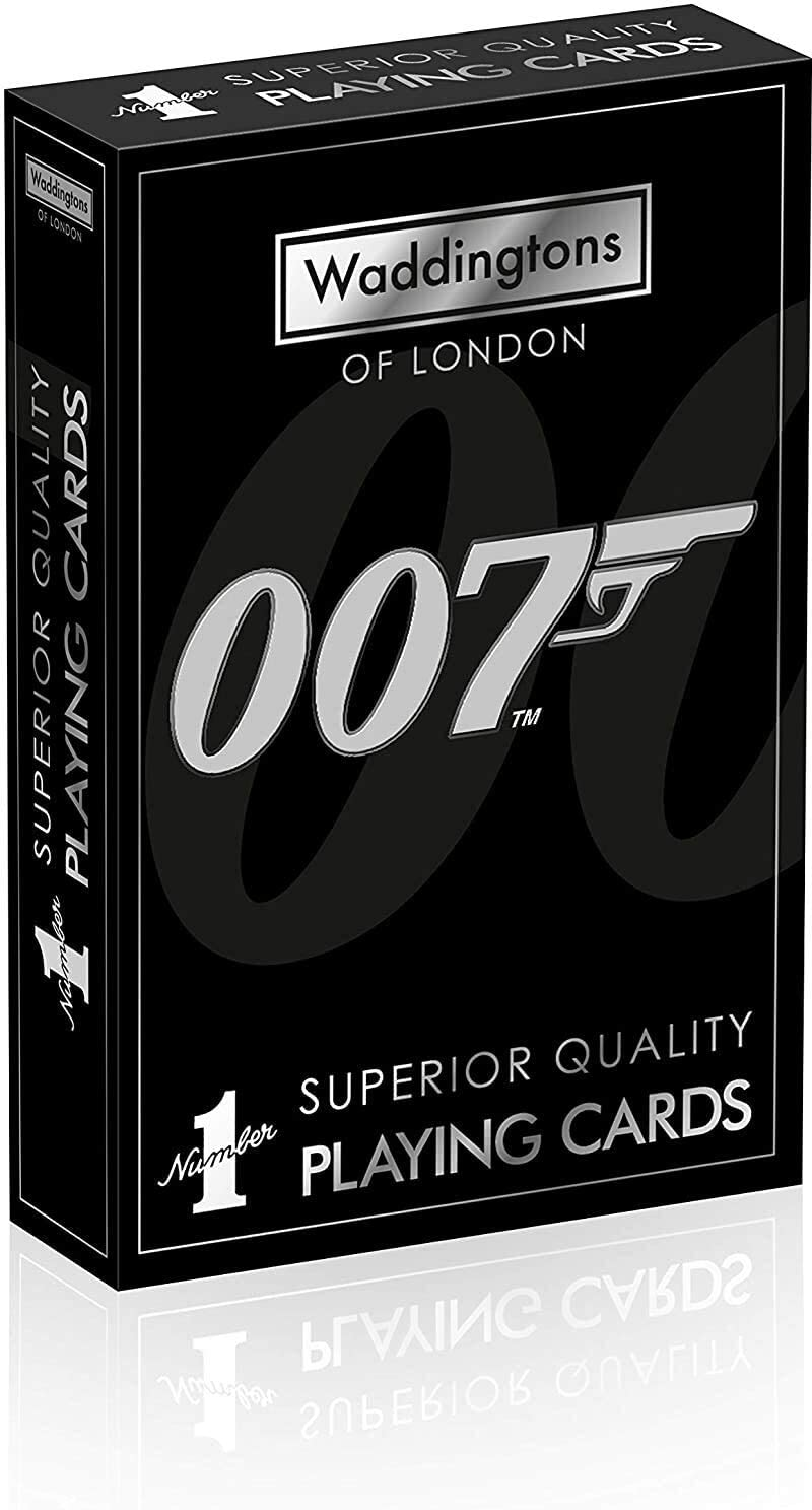 James Bond 007 Waddingtons Playing Max 48% OFF Max 77% OFF Cards Number