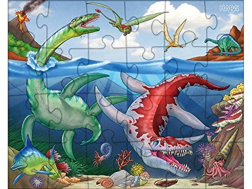 HABA-303377 Puzzle dinosauro, 303377