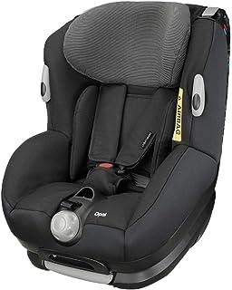 Bébé Confort OPAL, Silla de coche bebé, R44/04, a contramarcha o sentido de la marcha, ajustable y reclinable, instalación con cinturón de seguridad, 0 meses - 4 años, 0-18kg, Black Raven (negro)