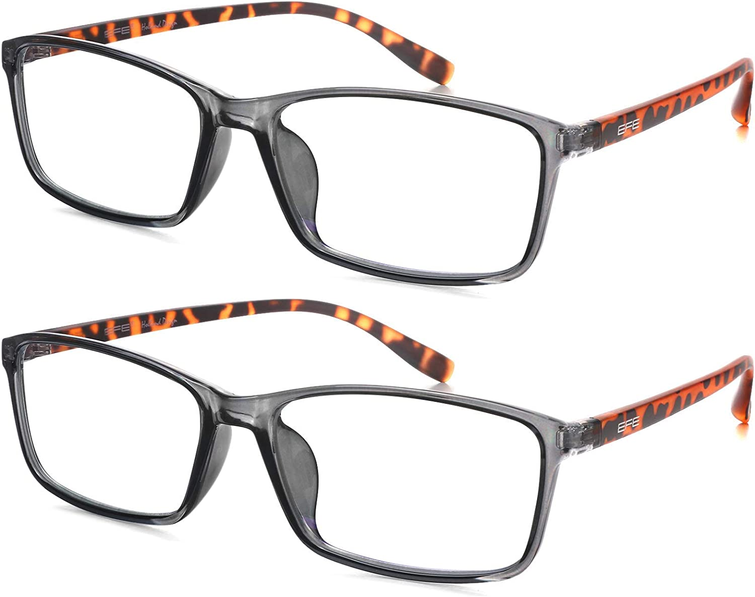 Blue Light Glasses 2 Pack Torto Ranking TOP1 Virginia Beach Mall Computer with Classic Eyeglasses
