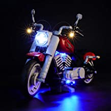 BRIKSMAX Led Lighting Kit for Creator Harley-Davidson Fat Boy - Compatible with Lego 10269 Building Blocks Model- Not Include The Lego Set