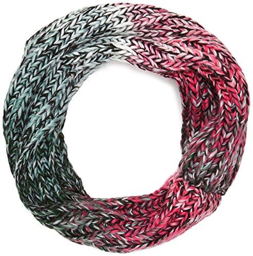 maximo meisjes en dames sjaal tube, meerkleurig (smoke blue/multicolor 2999), één maat (fabrikantmaat: 1sz.)
