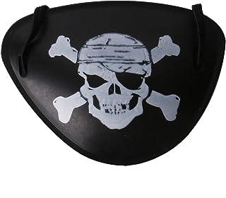 Black Pirate Captain Eye Patch Skull Crossbone for children Lazy Eye Kids Halloween Costumes Eye Patch Mask