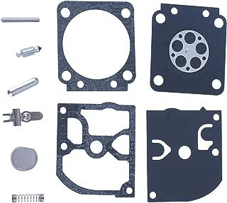 HIPA 573952201 Carburetor Rebuild Kit for Poulan PP4818A PP5020AV Gas Chainsaw C1M-W47