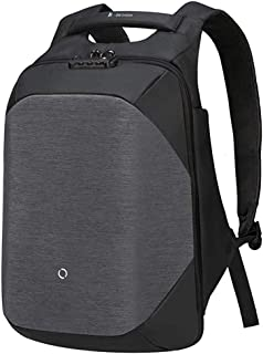 KORIN Design ClickPack - Anti Theft Travel Backpack Laptop Backpack 15.6 inch with USB Charging Port Large Capacity Waterproof TSA Travel