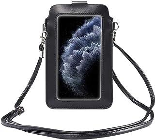 HAIWILL Touchscreen Tasche Handy Damen Handytasche zum Umhängen, kleine Damen Crossbody Umhängetasche für iPhone 12/12 Pro...