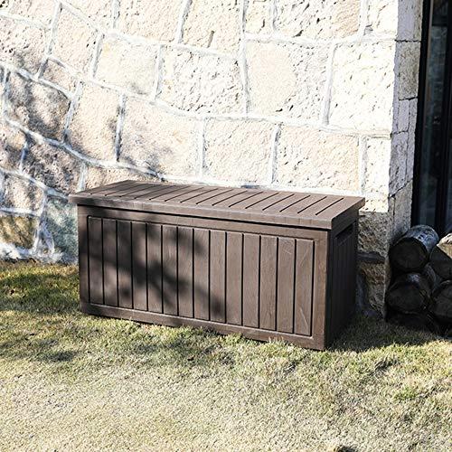 XLLLL Arcon Exterior Impermeable Caseta Depuradora 75 GAL Caja De Almacenamiento JardíN...