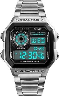 Skmei Sport Watch For Men Analog-Digital Stainless Steel - J2840S