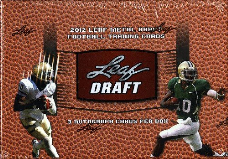 2012 Leaf Metal Draft Football Box