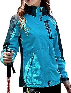 [ジェームズ・スクエア] レディース アクティブジャケット ソフトシェル 防寒 防風 撥水 フード付き マウンテンパーカー
