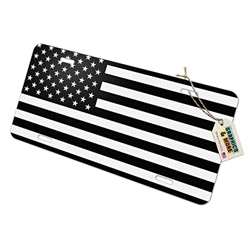 Reversed USA American Flag Red White Blue Military Satin Chrome Plated Metal Money Clip