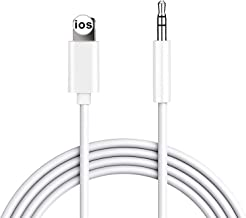 Aux Cord for iPhone,Cdyle Cable to 3.5 mm Jack Aux Audio Cord Adapter Compatible with..