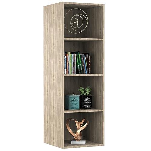 Forzza Bristol Bookshelf Sonoma,Light Oak