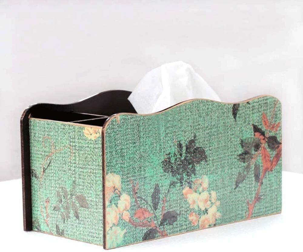 Cecorative tissue box Tissue Box Pastoral Cover European Style All stores are sold Store W