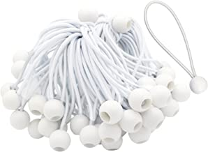 Anjing 75 Stks Bungee Cords Bungee Ball Lange Loop Regelmatige Bungees voor Partytenten, Tenten Banners, Dekzeilen, Vlag P...