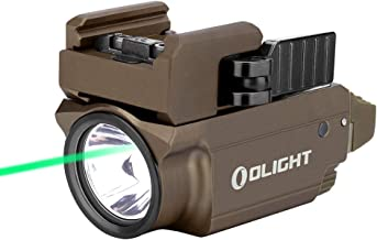 OLIGHT Baldr Mini 600 Lumens Magnetic USB Rechargeable Weaponlight with Green Beam and White LED Combo, Compact Rail Mount...