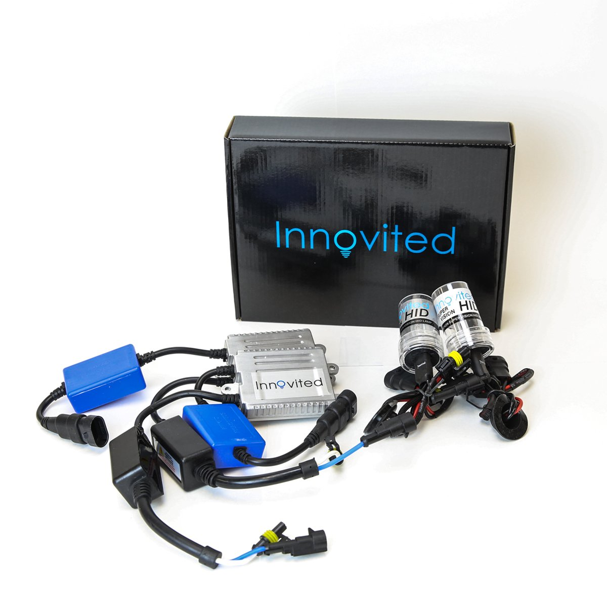2 Year Warranty Innovited 35W AC Xenon HID LightsAll Bulb Sizes and Colors with Slim Ballast Diamond White H7-6000K