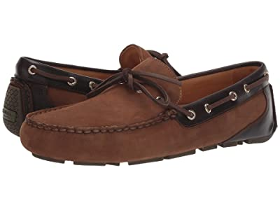 Sperry Gold Cup Harpswell 1-Eye Nubuck (Brown/Buc Brown) Men