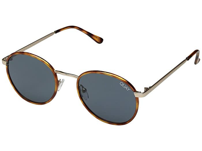 Retro Sunglasses | Vintage Glasses | New Vintage Eyeglasses QUAY AUSTRALIA Omen Orange TortoiseNavy Fashion Sunglasses $60.00 AT vintagedancer.com