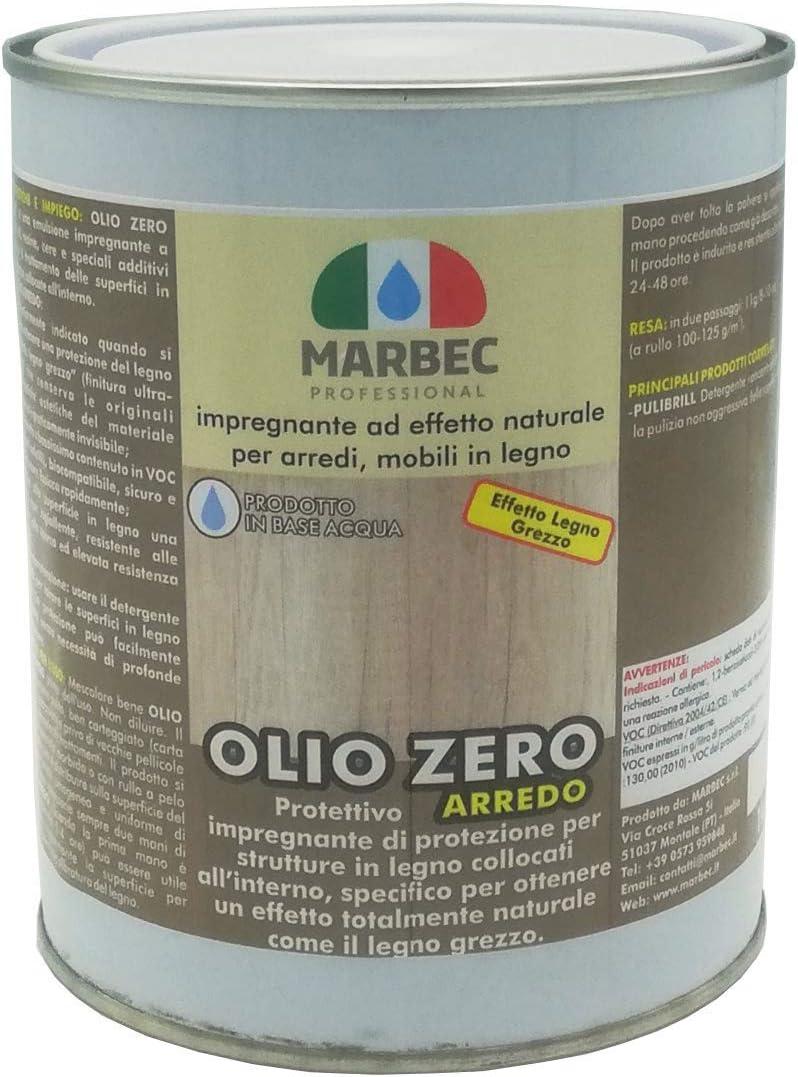 Marbec – Aceite cero decoración 5 kg | Impregnante de efecto ...