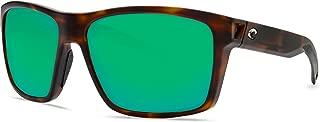 Costa Del Mar Costa Del Mar SLT191OGMP Slack Tide Green Mirror 580P Matte Tortoise Frame Slack Tide, Matte Tortoise Frame, Green Mirror 580P