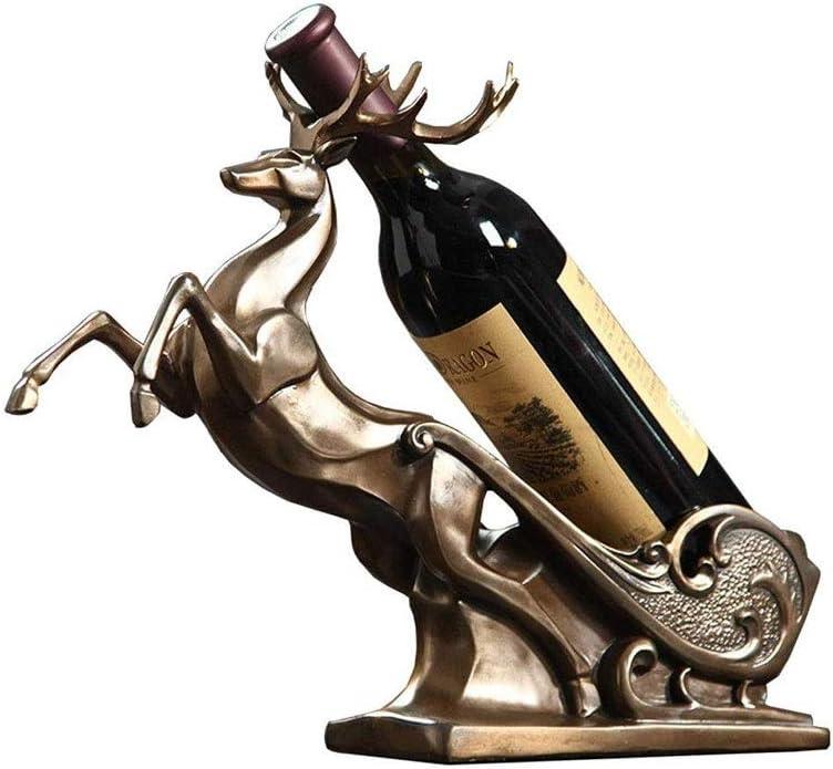 Xuyuanjiashop Soldering Tabletop Wine Cheap mail order sales Rack Storage Holder Elk Ra