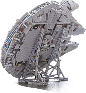 RAVPump Vertical Stand for Millennium Falcon Blocks Model - 407 Pieces Display Stand Kit Compatible with Lego 75192 ( Lego Set not Included )