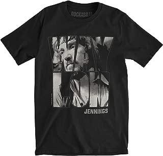 Men's Portrait Slim Fit T-Shirt Black