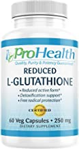 ProHealth Reduced L-Glutathione (250 mg, 60 Capsules)