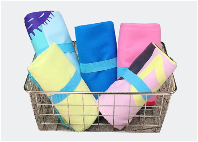 rouroumaoyi Kids Sand Free Quick Cartoo Portland Mall Towel Regular dealer Beach Dry Children