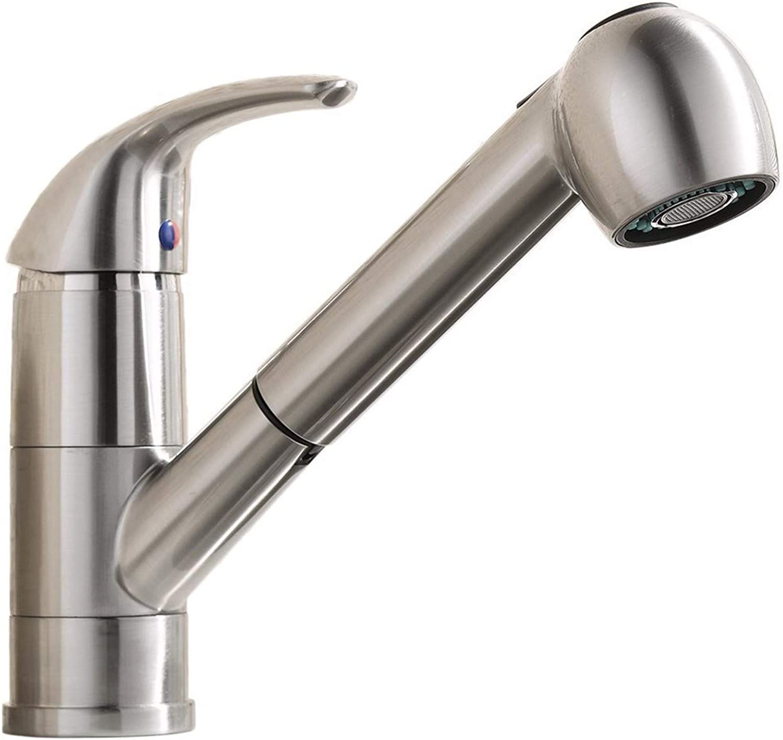 QPGGP-Kitchen mixer Draw-type kitchen faucet lead-free draw-type faucet Draw-type kitchen faucet basin dual-purpose