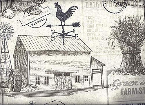 Farmhouse Swag Curtain 84' Wide